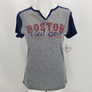 Boston Red Sox Majestic Short Sleeve Women's T-Shi